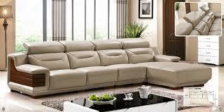 canapé sofa italien orange et blanc couleur personnalisée en cuir italien canapé en