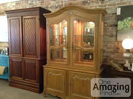 ethan allen china cabinet ethan allen china hutch