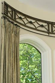 curtains curtain rods for arched windows decor arched window