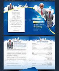 Templates For Funeral Program 12 Obituary Templates For Father U2013 Free Word Excel Pdf Psd