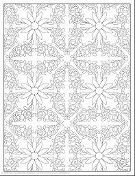 stunning design pattern coloring pages printable with coloring