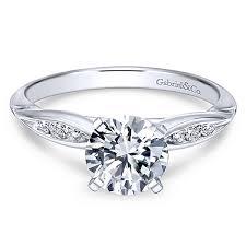 gabriel and co engagement rings quinn 14k white gold engagement ring er11749r3w44jj