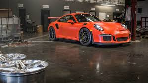 red porsche black wheels lava orange porsche 991 gt3 rs with hre p106 in satin black hre