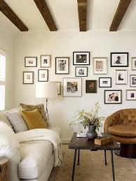 Wohnzimmer Ideen Braune Couch Braune Wand Mit Xxl Wandtattoo Foto Baum Rahmen Sticker Braun Deko