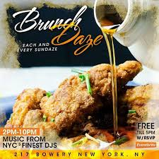 New York Ny Events U0026 Things To Do Eventbrite Sunday Brunch U0026 Day Party Tickets Sun Jul 23 2017 At 2 00 Pm