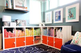 Easy To Build Bookshelf Diy With Style Ikea Hack Bookshelf Makeover Without Paint Blue