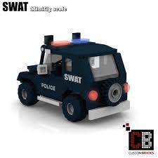 police jeep custombricks de lego custom moc city swat police gign raid gru