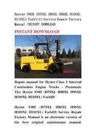 hyster f005 h70xl h80xl h90xl h100xl h110xl forklift service repair u2026