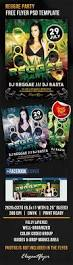 free reggae party facebook cover flyer template flyershitter com