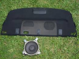 lexus is 350 navigation update 06 11 lexus is250 is350 rear shelf deck speaker cover oem