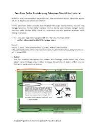 daftar pustaka merupakan format dari penulisan daftar pustaka yang bahannya diambil dari internet 1 638 jpg cb 1410643367