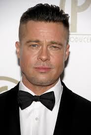 nouvelle coupe de cheveux homme nouveau look pour brad pitt coiffure