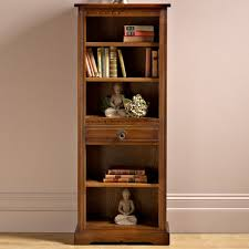 narrow bookcase with doors rustic narrow bookcase doherty house make narrow bookcase
