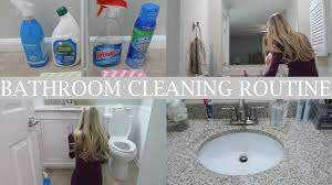 Seventh Generation Bathroom Cleaner My Bathroom Cleaning Routine Clean With Me Erica Lee Youtube