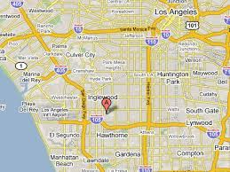 map of inglewood california california earthquakes 2008