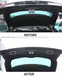 maserati levante trunk for maserati levante abs inner rear trunk handle frame trim cover