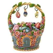 jim shore easter baskets 3 ceramic highly detailed easter egg tree jim o rourke baskets