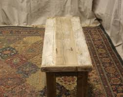 Rustic Bench Coffee Table Rustic Bench Etsy