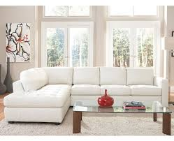 knoll couch white leather couch living room modern design lazzaro