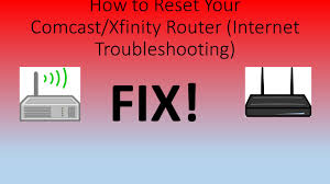 xfinity online light not on how to reset your xfinity router internet troubleshooting youtube