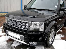Supercharged Style Front Grille Silver Grey Land Rover Discovery 3