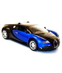 blue bugatti shopcros remote control rechargeable 1 18 bugatti veyron blue