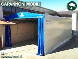 capannone in lamiera coperture mobili capannoni e tunnel mobili in pvc
