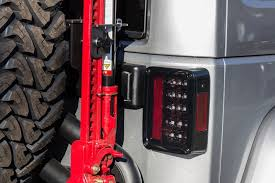 Jeep Jk Tail Light Covers Recon 264234 Led Tail Lights Jeep Wrangler Jk
