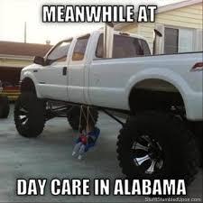Redneck Meme - redneck meme redneck daycare monster truck diy child swing zen