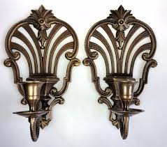 lighting brass wall sconces bathroom lighting fixtures antique