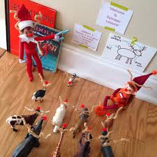 on shelf reindeer more awesome on the shelf ideas elves shelves and shelf ideas