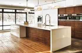 cuisine contemporaine blanche cuisine moderne collection et avec contemporaine blanche bois