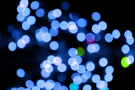 blue christmas lights blurred christmas lights blue picture free photograph photos