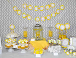 yellow and gray baby shower modern baby shower yellow and gray geometric baby shower