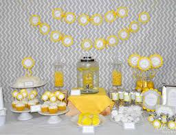 modern baby shower modern baby shower yellow and gray geometric baby shower