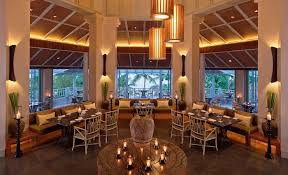 the restaurant dining at amatara resort u0026 wellness