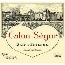château calon ségur grand cru chateau calon segur 2006 wine