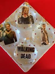 the walking dead ornaments ornament and ornament