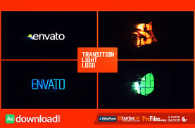 transition light logo videohive project free download free