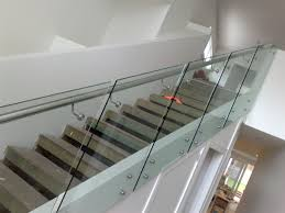 Glass Stair Rail by Glass Railing Home Interior Ideas Image Of Best Loversiq