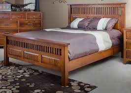 King Size Rustic Varnished Oak Wood Sleigh Bed Frame With Storage by Oak Queen Bed Frame Platform With Drawers Amish 4 Pcnielsen Com