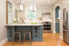 small kitchen grey cabinets blue and grey cabinets karr bick kitchen bath