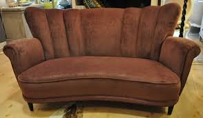 Velvet Sofa For Sale by Swedish Antiques For Sale Midnight Sun Ltd Direct Importer Of