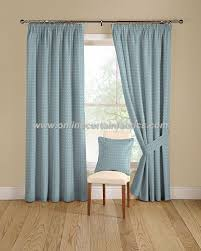 Blue Nursery Curtains Montgomery Ditto Curtain Fabric In Colour 11 Baby Blue