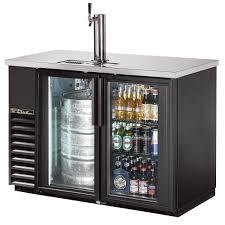 mini bar refrigerator glass door true tdb 24 48g ld 49