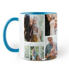 collage sky blue coffee mug 11 oz collage sky blue colorful