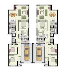 House Plan The Aon 265 Garage Is A Duplex Design Perfect For