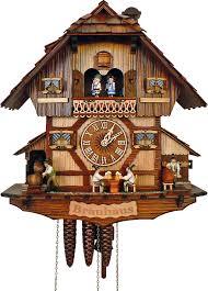 cuckoo clock 1 day movement chalet style 41cm by anton schneider