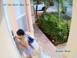 front door video camera 3mp ip camera
