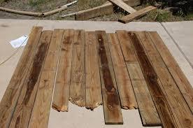 Reclaimed Wood Headboard by Remodelaholic Curvy Reclaimed Wood Headboard Tutorial
